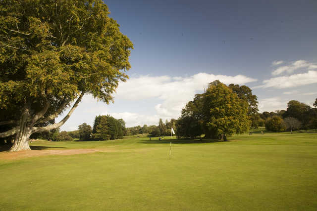 View from Belleisle Park - Belleisle's 18th green