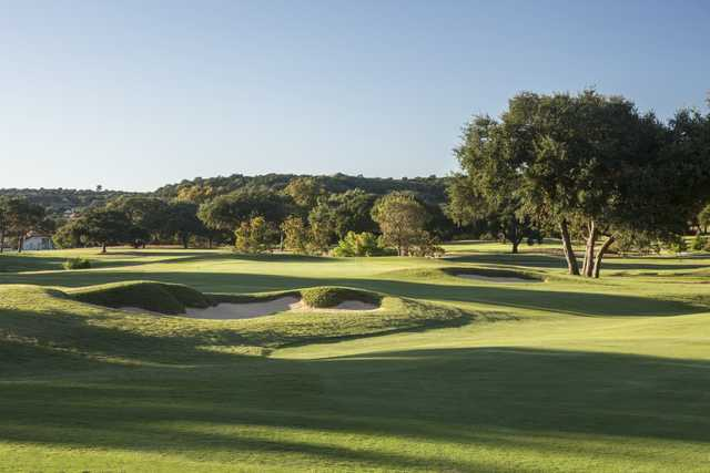 View of the 10th green at Tapatio Springs Hill Country Resort
