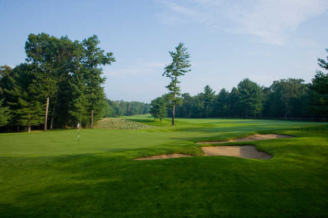 View of the 1st green at Pilgrim's Run