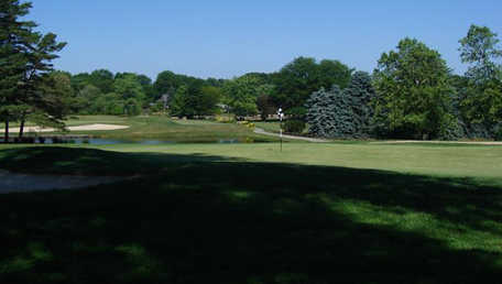 A view of hole #4 at Butler Country Club