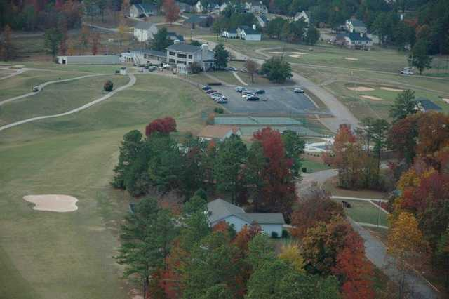 Aerial view from St. Andrews Country Club
