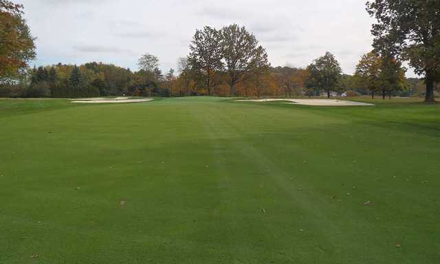 A fall day view from Butler Country Club
