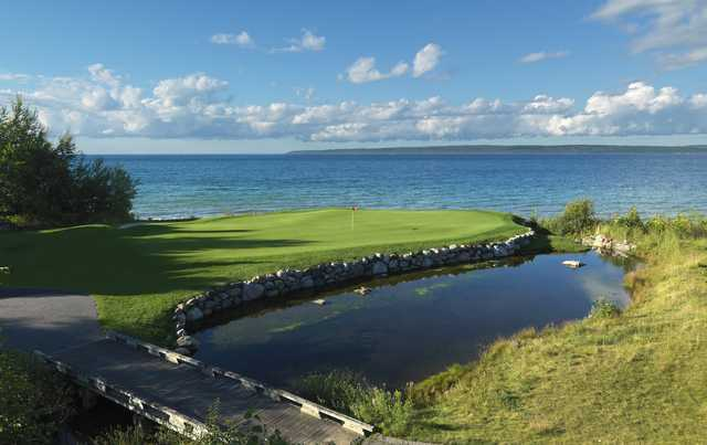 The Quarry at Bay Harbor: 8th green