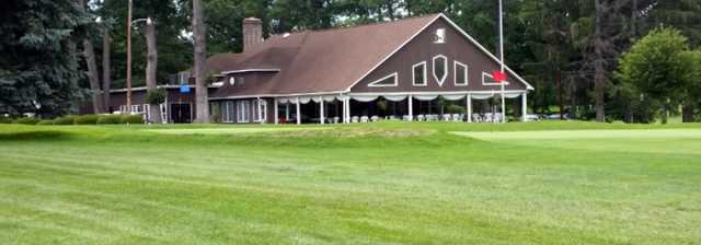 A view of the clubhouse at Clearfield-Curwensville Country Club