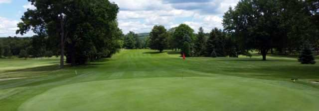 A view of a green at Clearfield-Curwensville Country Club