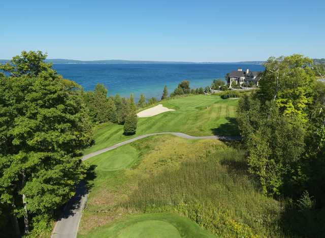 The Preserve at Bay Harbor: Aerial view of #9