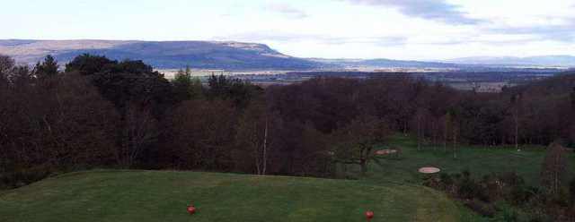 View from Bridge of Allan Golf Club