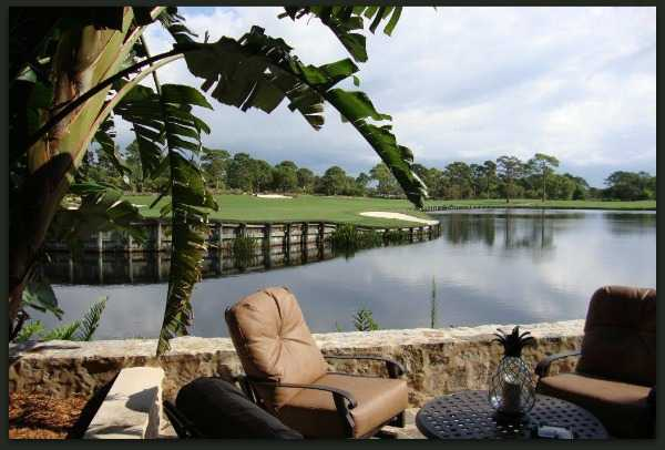 A view if the 18th hole at The Bear's Club