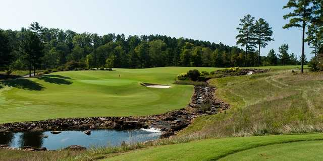 A view from a tee at The Cliffs from Keowee Falls Golf Course