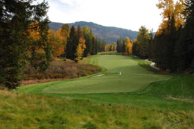 A view of a hole at The Idaho Club
