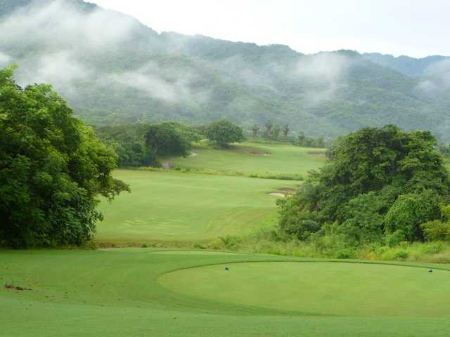 A view from a tee at Vista Vallarta Golf Club