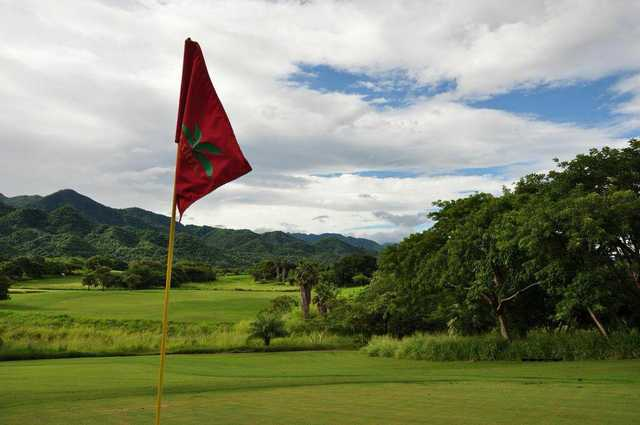 A view from a green at Vista Vallarta Golf Club