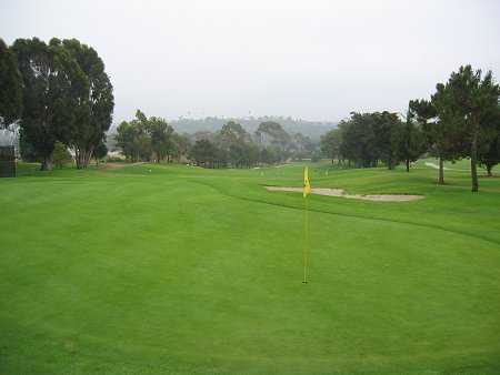 A view of the 4th hole at Santa Barbara Golf Club