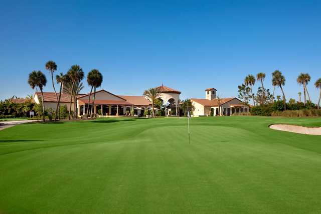A view of a green at Jupiter Country Club