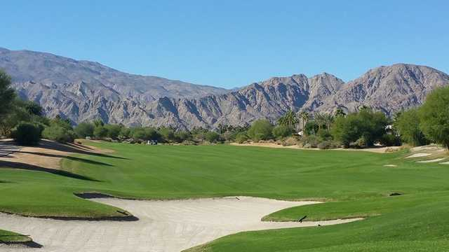 A view of a fairway at PGA West Greg Norman Course