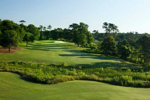 A view of a afairway at Country Club of Landfall