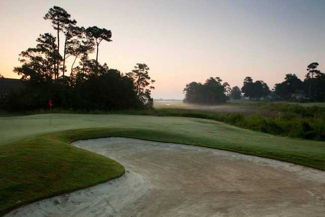 A view of a hole from Country Club of Landfall