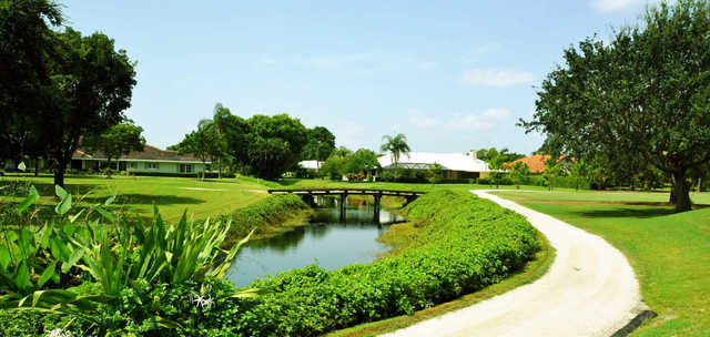 A sunny day view from Delray Dunes Golf & Country Club