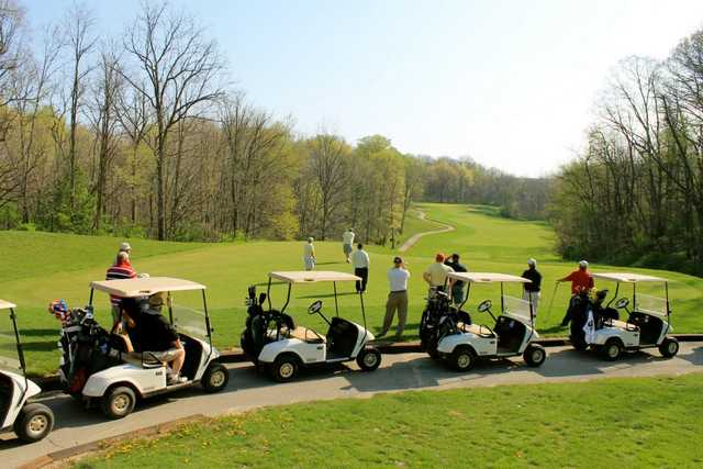 A view from Eagle Creek Golf Club