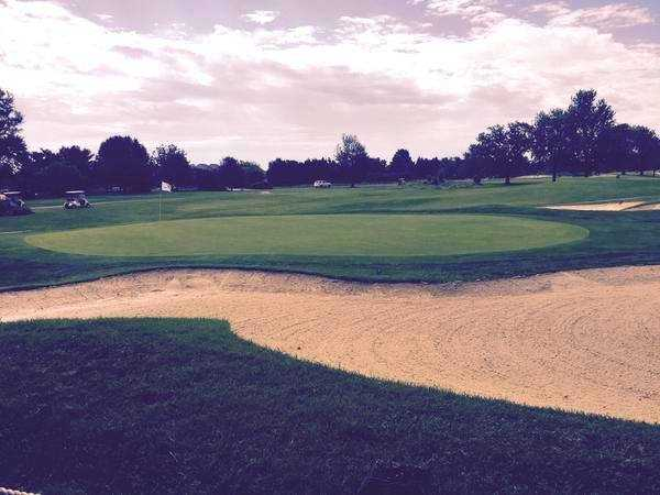 A view of a green at Harbourtowne Resort Country Club