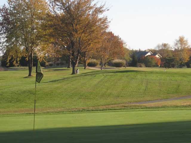 A fall day view from Harbourtowne Resort Country Club
