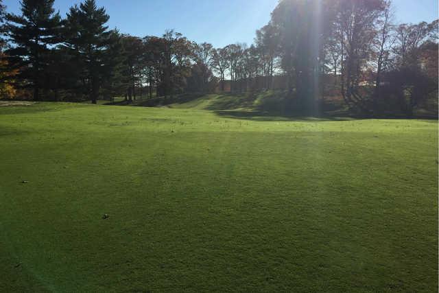 A view of fairway #1 from Ackerman-Allen at Birck Boilermaker Golf Complex
