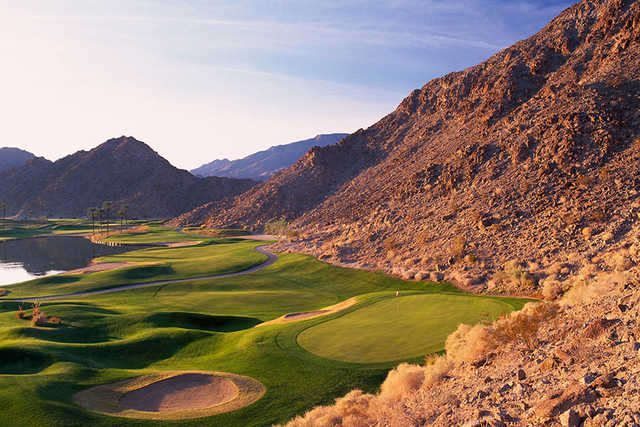 A view of hole #6 at La Quinta Resort Mountain Course