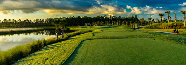 A view from a tee at Esplanade Golf and Country Club of Naples