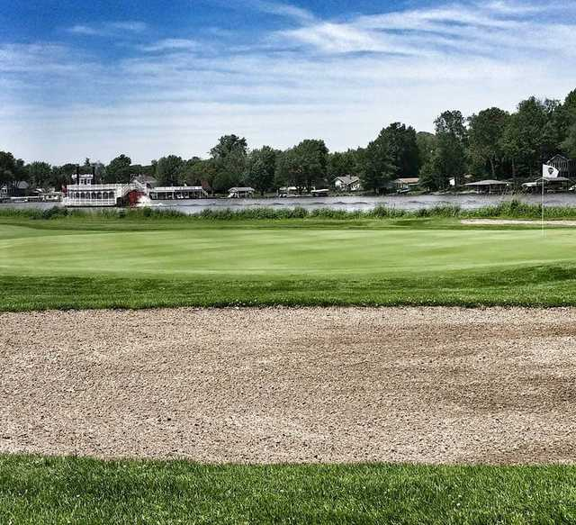 A view of a green at Tippecanoe Country Club