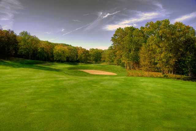 A view from the 4th fairway at Boone Valley Golf Club