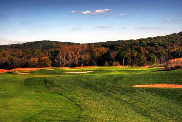 A view of hole #17 at Boone Valley Golf Club