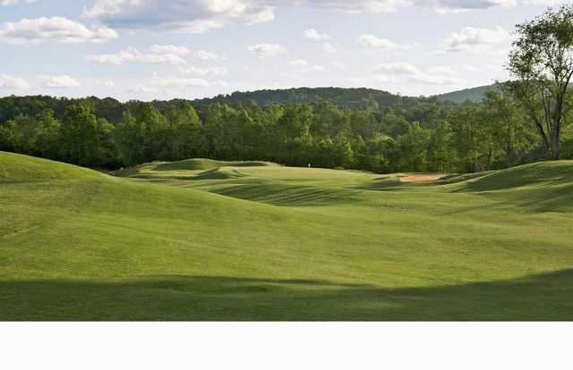 A view of hole #10 at Cherokee Valley Course and Club.