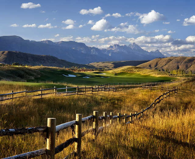A view over the fences from 3 Creek Ranch Golf Club