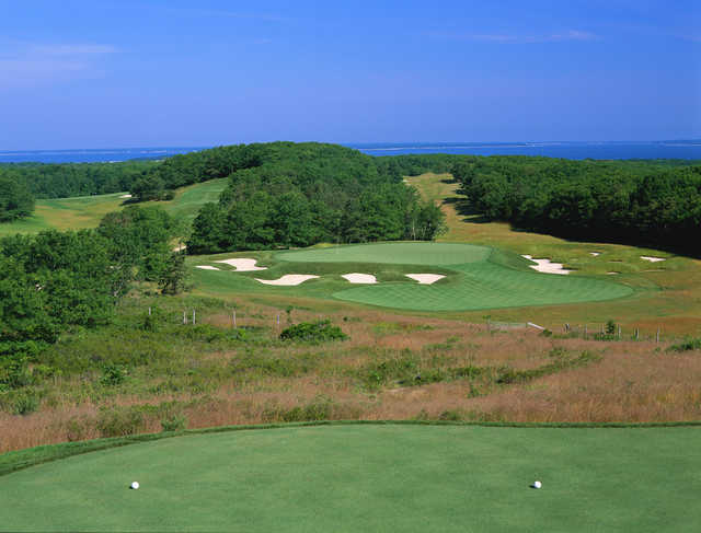 A view from a tee at Bridge Golf Course (Rees Jones, Inc)