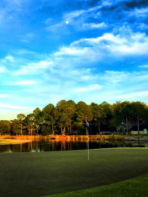 A view of hole #17 from Raven at Sandestin Resort