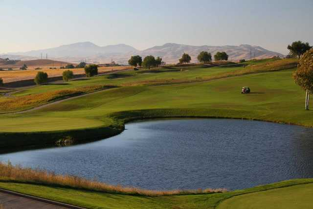 A view over the water from Poppy Ridge Golf Course