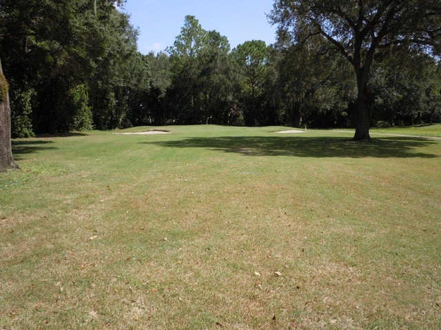 A view of hole #2 at Crystal Lake Club
