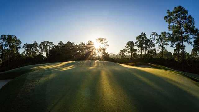 A view of hole #14 at Naples Grande Golf Club