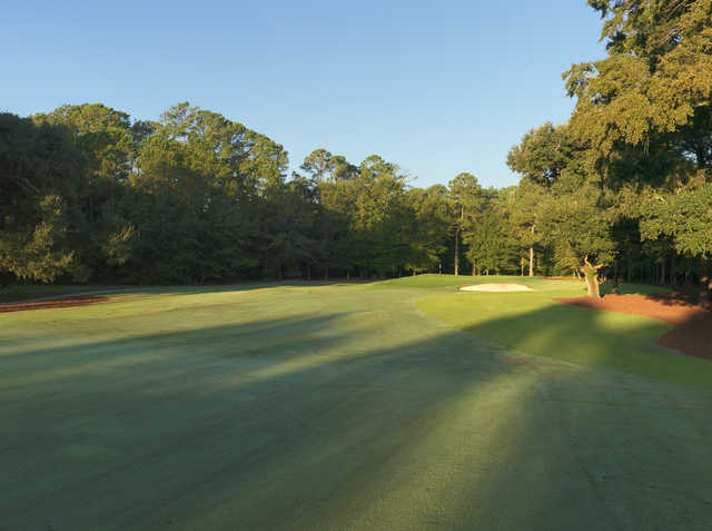 A view from a fairway at Chechessee Creek Club