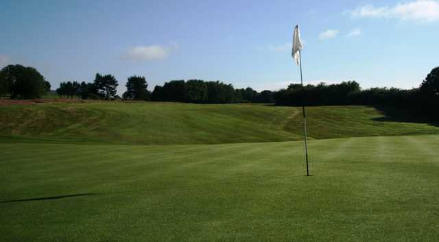 A view of a hole at Bolton Old Links Golf Club