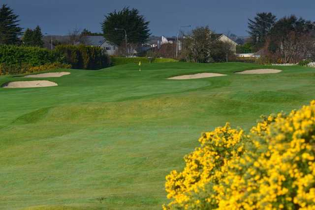 A view of green #16 at Galway Golf Club