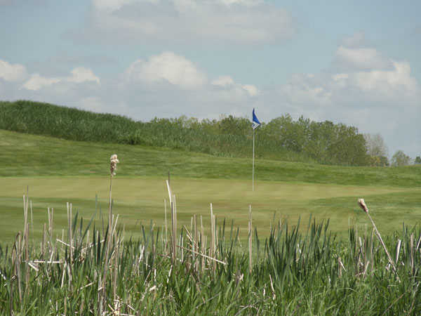 View of the 17th hole at Stonehenge Golf Club