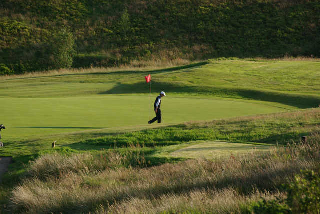 A view of a hole at Halifax Golf Club