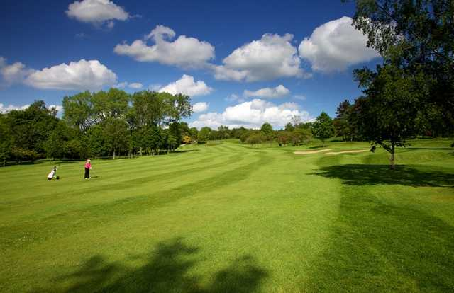 A view of fairway #2 at Pannal Golf Club