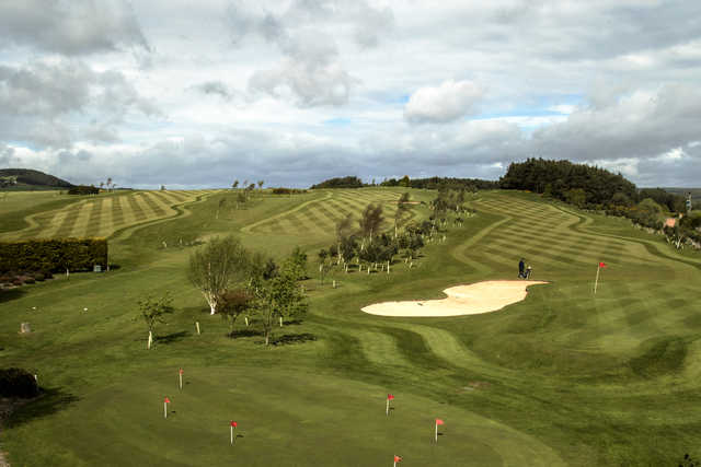 View of the 9th, 10th and 18th holes at St. Michaels Golf Club