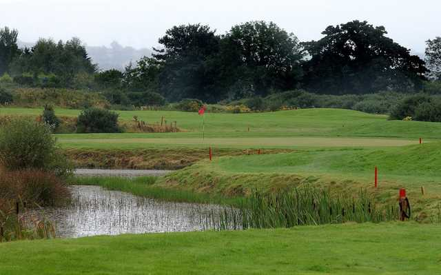 View of the 12th green at Down Royal Park Golf Course