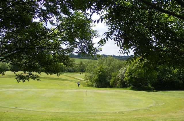 View of a green from the Adderbury Course at Banbury Golf Club