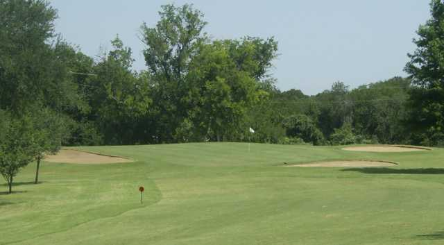 A view of hole #6 at Corsicana Country Club