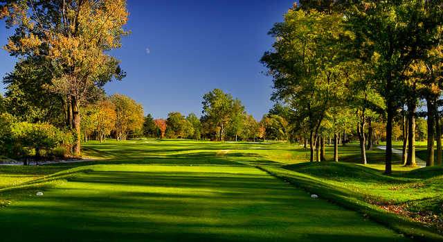 A view from a tee at Lakewood Country Club