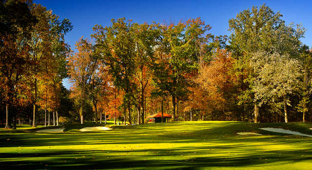 A splendid fall day view from Lakewood Country Club